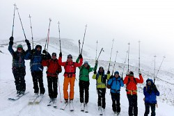 Ski Tour in Mount Damavand Region